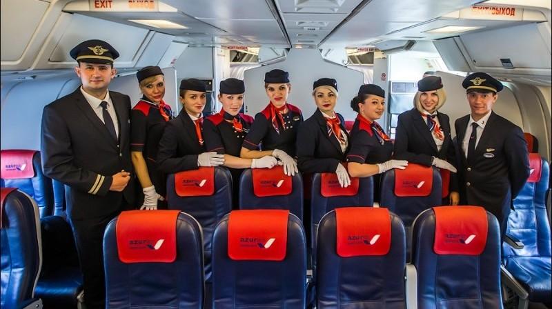 онлайн регистрация на рейс авиакомпании Азур Эйр