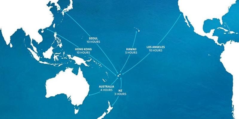 Сколько лететь до Фиджи из Москвы