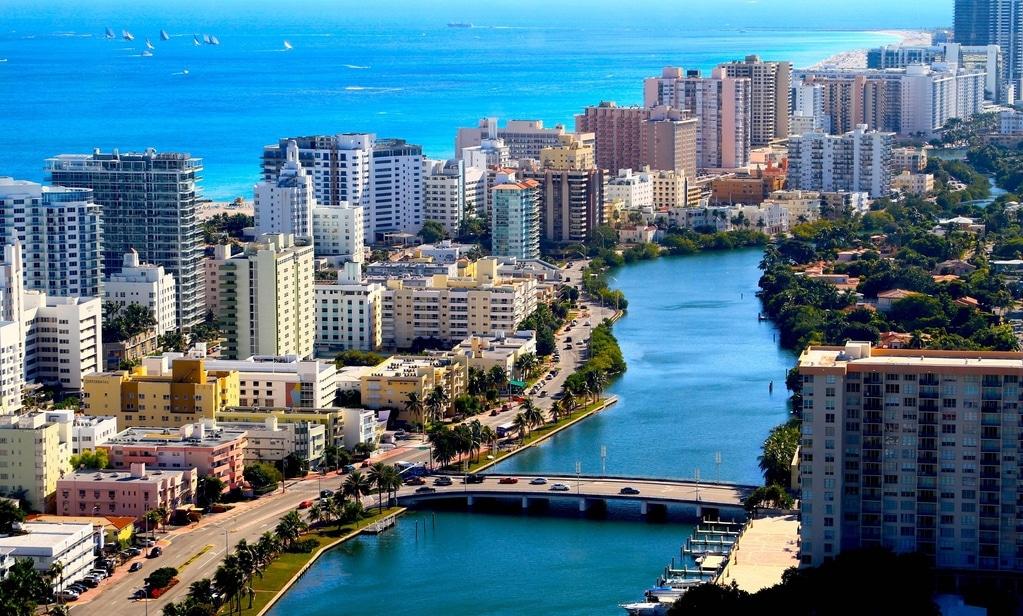 Время перелета Лос-Анджелес – Майами