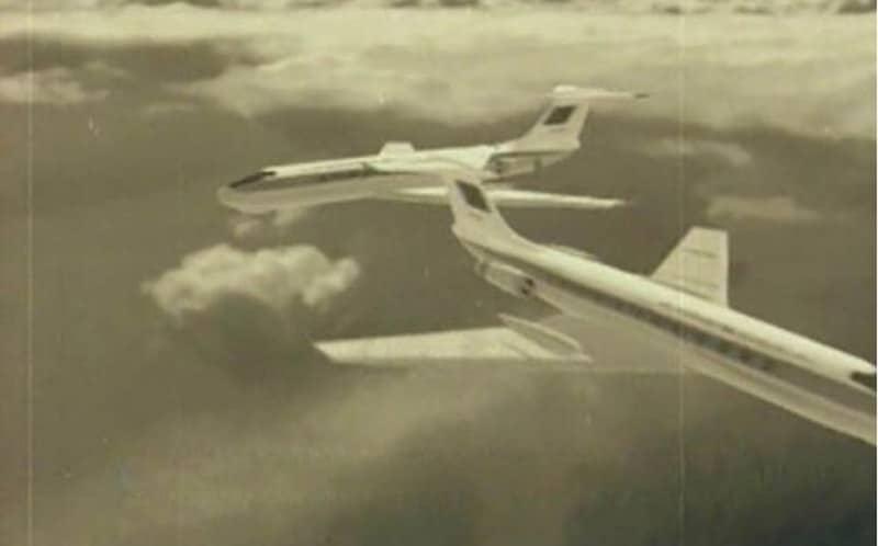 Столкновение ТУ-134 над Днепродзержинском