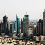 Фото Дубая с высоты птичьего полета полета2