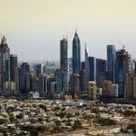 Высота небоскреба в Дубае