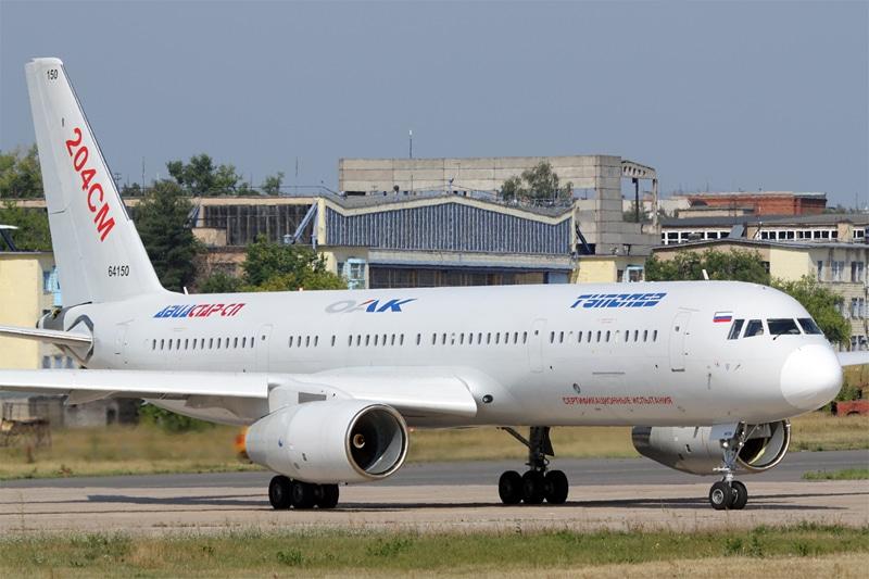 Схема салона Ту-204 Ред Вингс