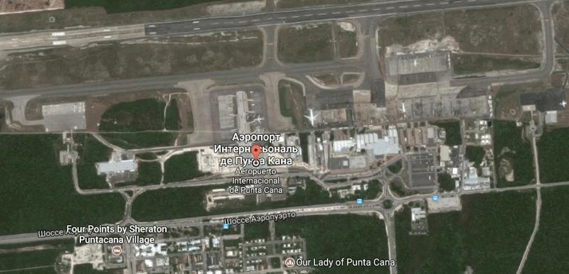 официальный сайт аэропорта Пунта-Кана Доминикана