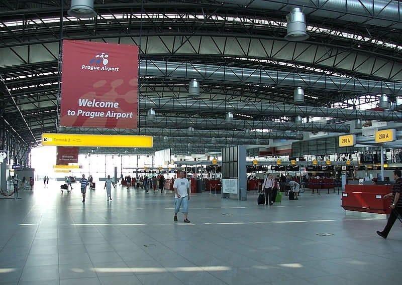 Онлайн табло вылета и прилета аэропорта Праги