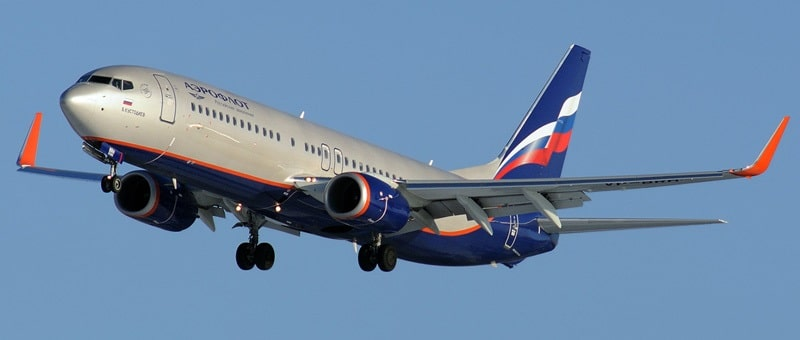 Самолет Boeing 738