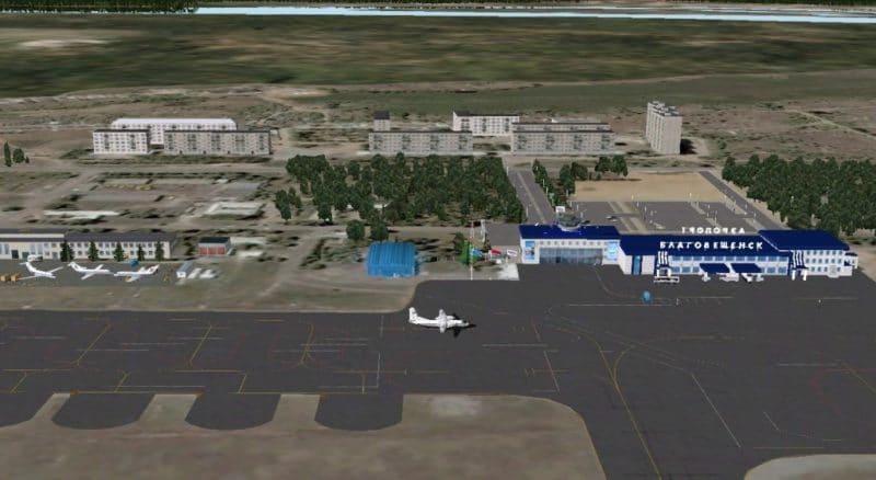Расписание самолетов аэропорта Благовещенска