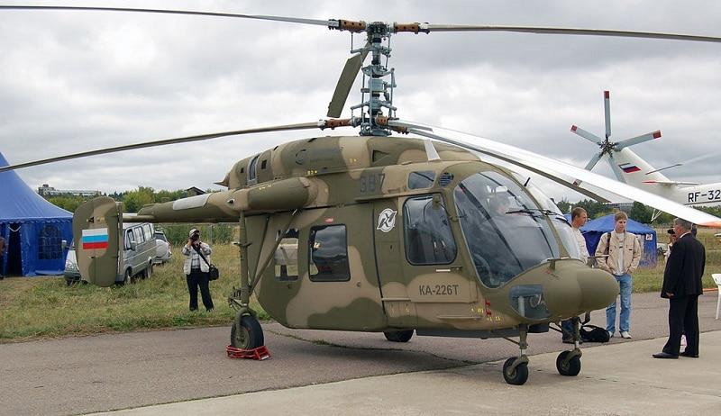 Технические характеристики вертолета Ка-226