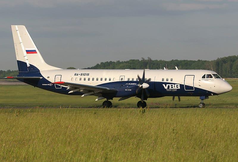 Дальность полета Ил-114