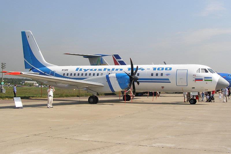 Салон Ил-114