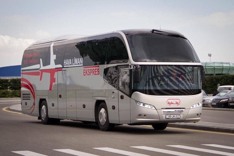 Как добраться из аэропорта в центр Баку