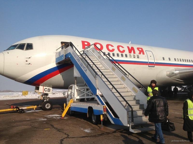 отзывы об авиакомпании Россия