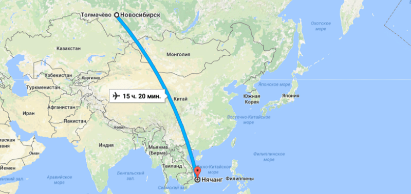 Москва вьетнам время в полете