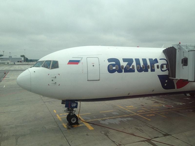 Рейс ZF-7711 Москва - Джерба