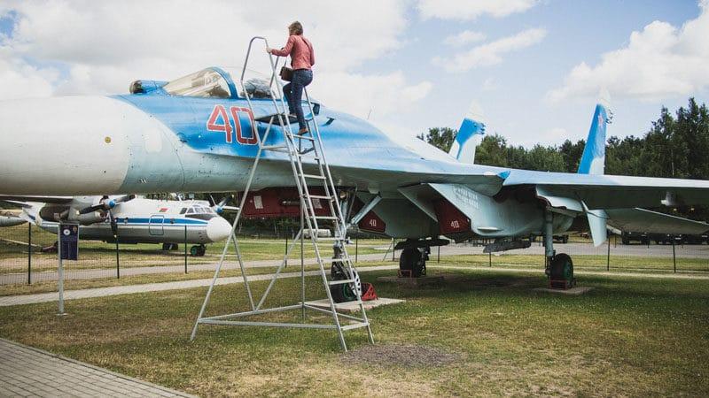 Беларуси музей авиации - Боровая
