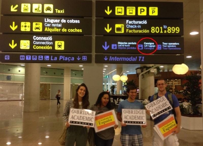 Где оставить багаж в аэропорту Барселоны
