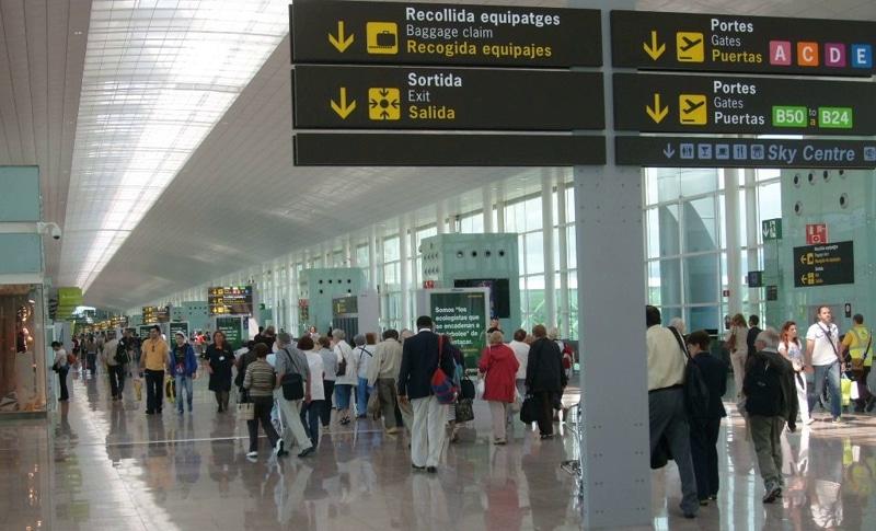 схема аэропорта барселоны на русском языке