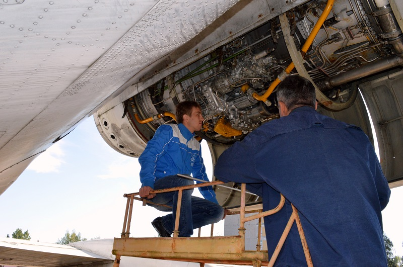 Летное училище гражданской авиации в Минске
