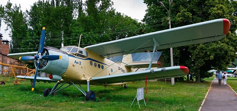 Цена билета в музей авиации в Киеве