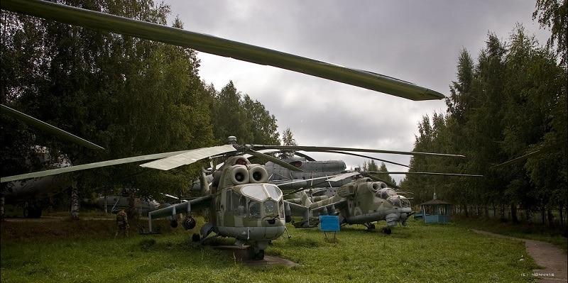Музей вертолетов в Торжке официальный сайт