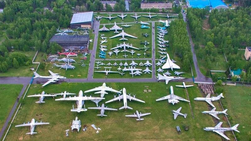 музей самолетов в Монино