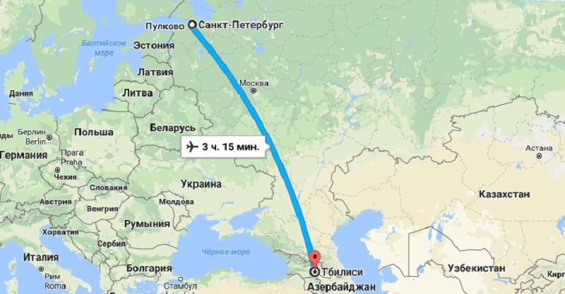 Сколько часов лететь до Италии из Москвы и Санкт Петербурга