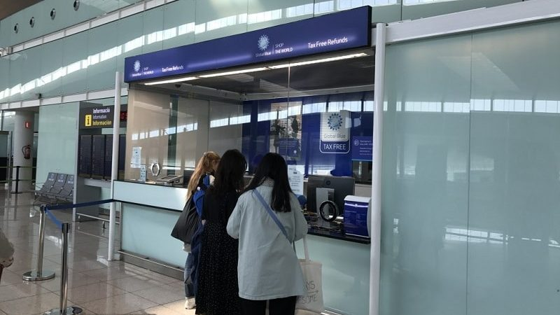 Как получить Такс Фри в аэропорту Барселоны