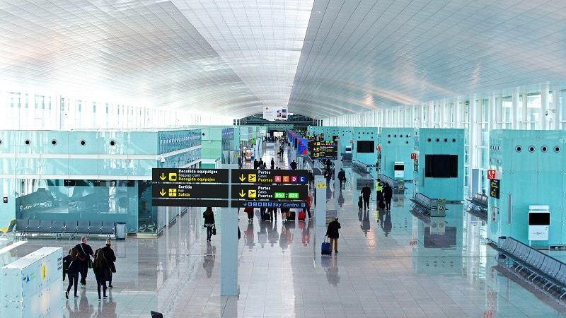 Tax Free в аэропорту Барселоны