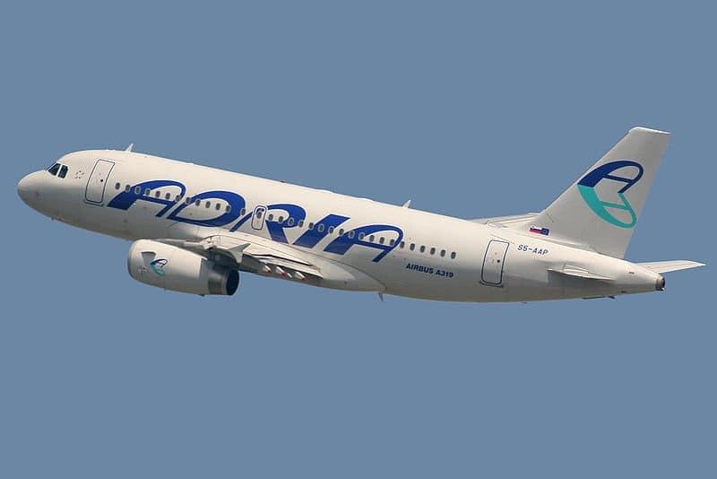 Adria Airways официальный сайт