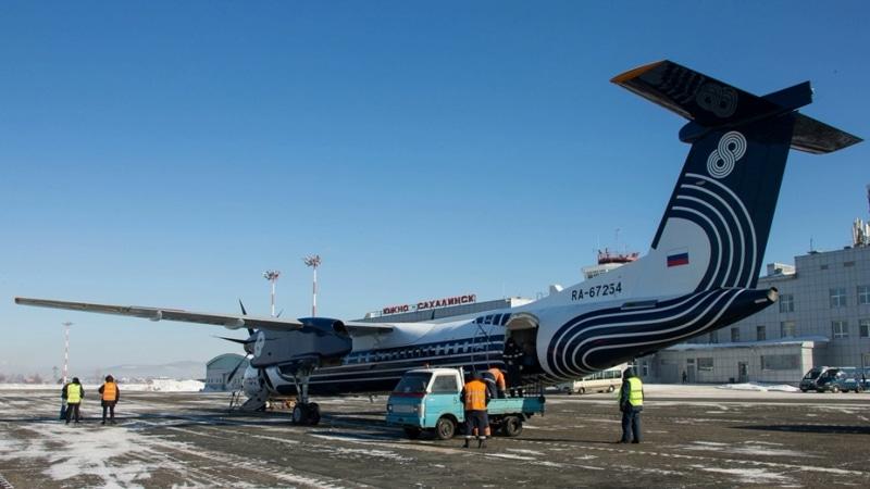 самолет DHC 8
