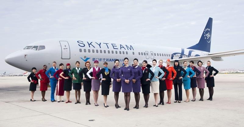 Sky Team альянс участники
