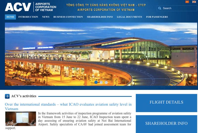 официальный сайт аэропорта Камрань
