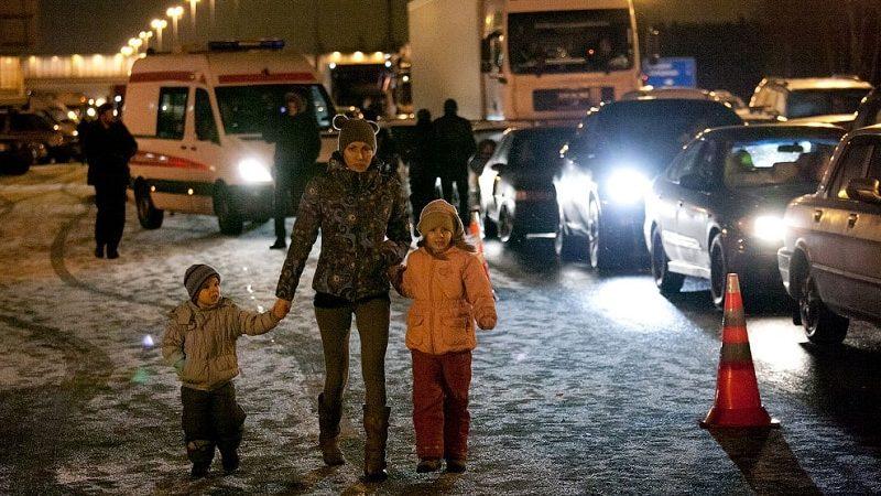 Пассажирский самолет Ту-204 разбился во Внуково