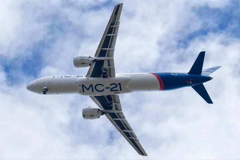 летные испытания МС-21