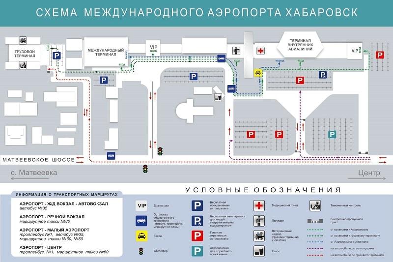 Адрес аэропорта Хабаровска