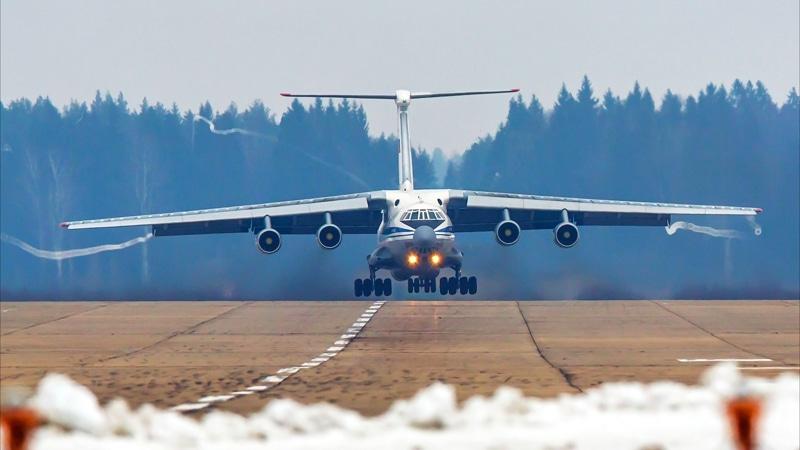 размеры Ил-76