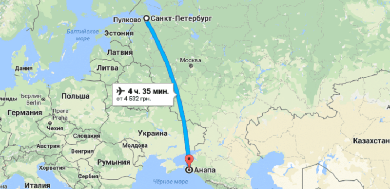 Как ехать из питера в москву