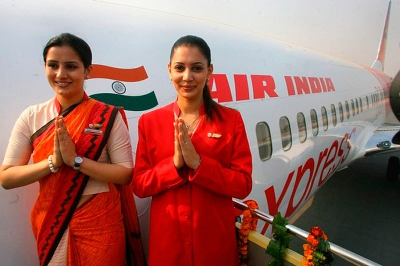 Air India официальный сайт на русском