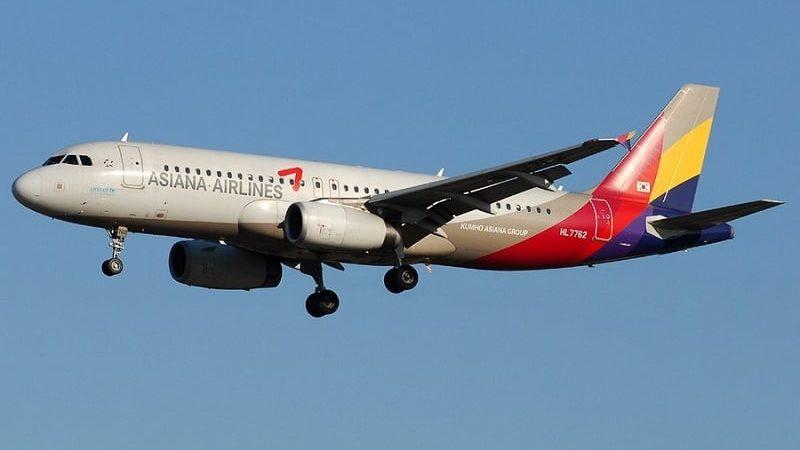 Asiana Airlines официальный сайт на русском