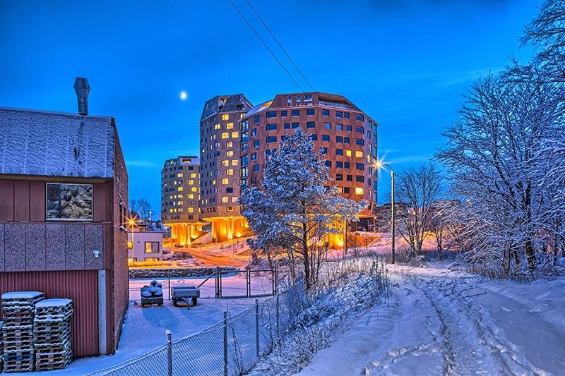 Время полета Москва – Норвегия