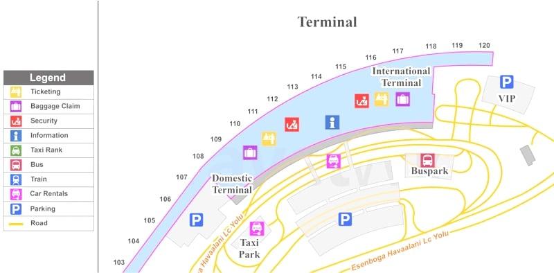 фото аэропорта Анкары Эсенбога