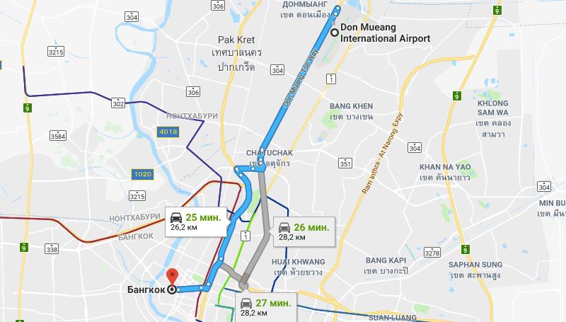 официальный сайт аэропорта Дон Муанг