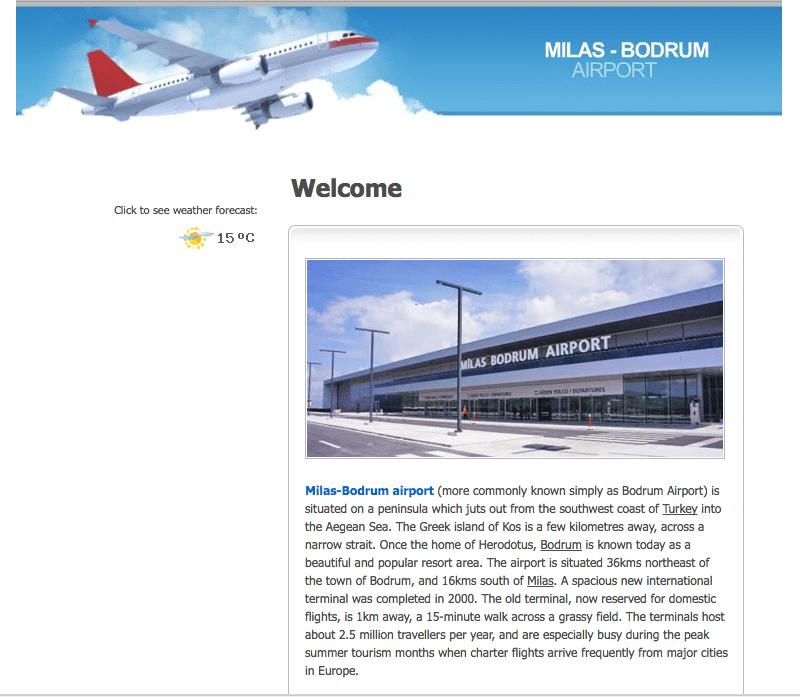 аэропорт Бодрум Милас