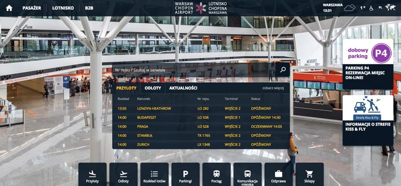 аэропорт Фредерика Шопена