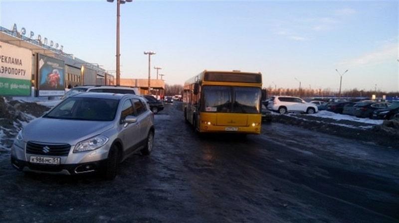 Расписание автобусов в аэропорту Мурманска