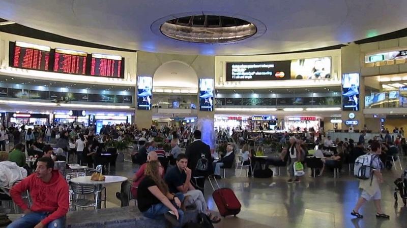 добраться из аэропорта Бен-Гурион в Иерусалим