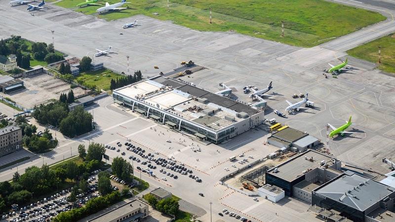 аэропорт Толмачево онлайн-табло вылета и прилета