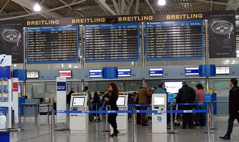 Аэропорт Афины онлайн-табло вылета и прилета