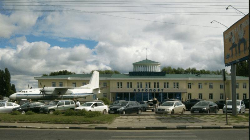 центральный аэропорт Саратова