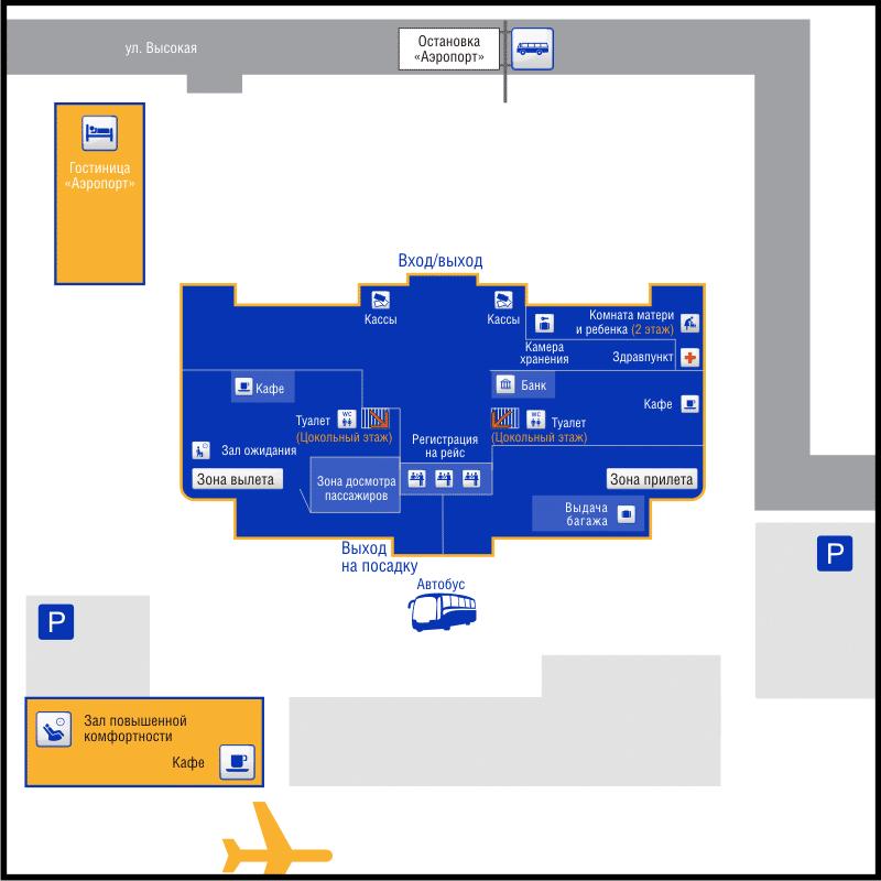 Официальный сайт аэропорта Саратова
